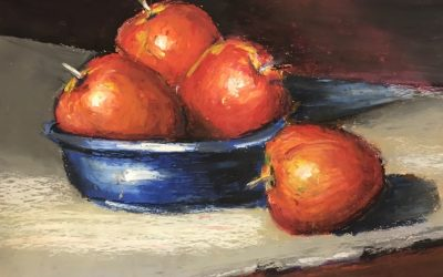 Online Art Class: Guided drawing with oil pastels with Karen Tan (supplies provided)