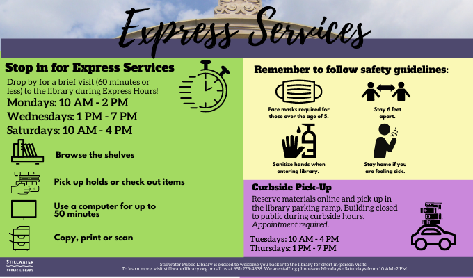 Stop in for Express Services