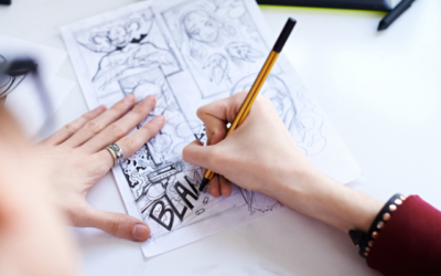 Drawing Manga & Comics for ages 10 and up